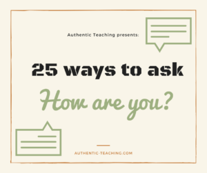 Authentic Teaching presents-